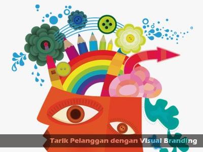 cara menarik pelanggan dengan visual branding