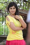 Aparna Glam pics in yellow top-thumbnail-12