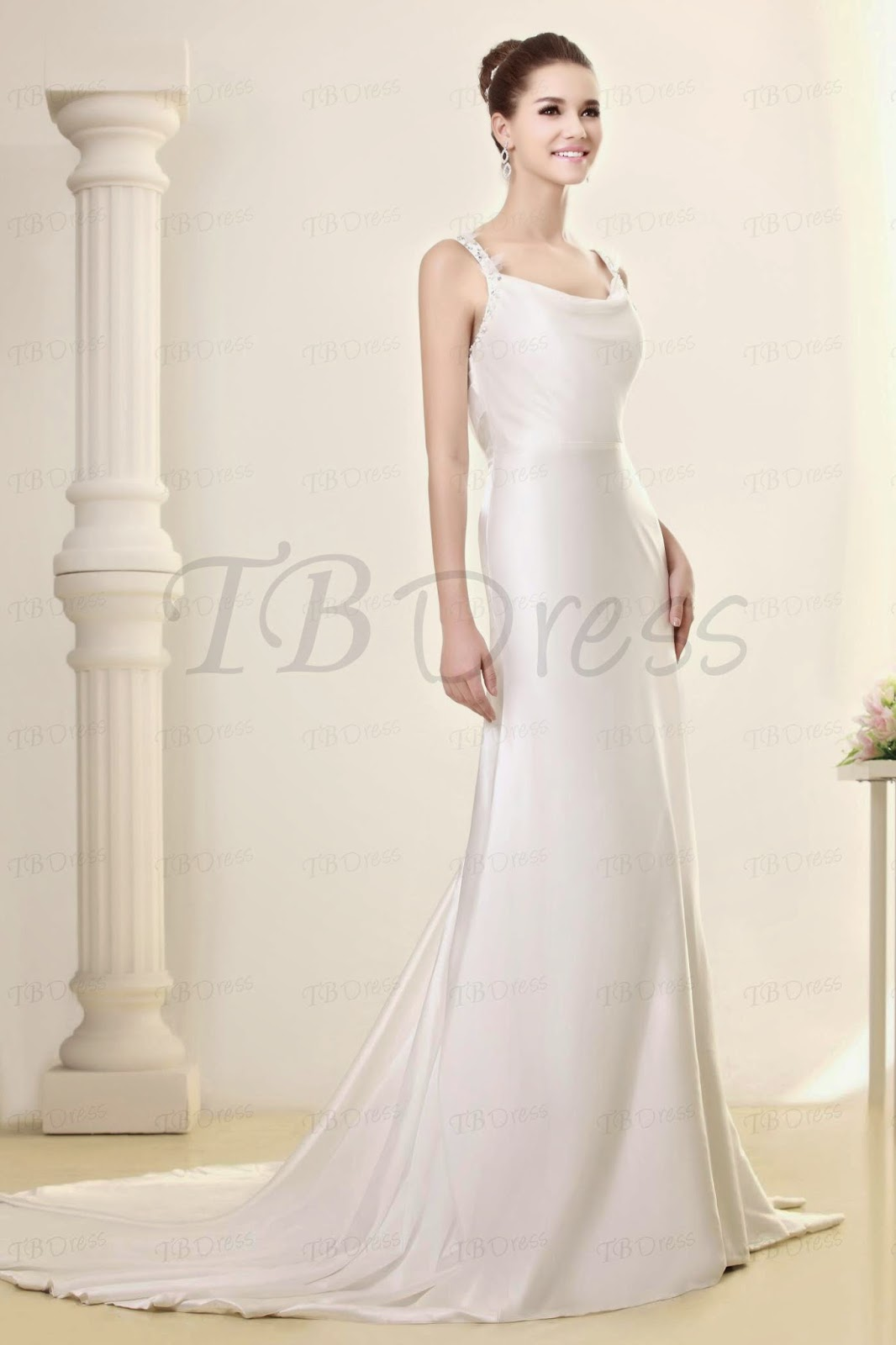 Tbdress style sheath wedding dresses for Website for wedding dresses