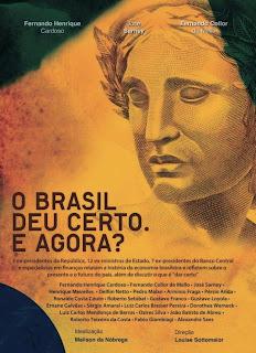 poster Download – O Brasil Deu Certo. E Agora? – DVDRip AVI + RMVB Nacional
