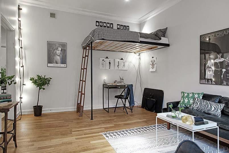 Milalook antresola for Ideas de decoracion de interiores baratas