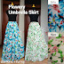 Rok Panjang Muslim Flowery Umbrella Skirt 081372507000 pin bb 7FC8A1E9