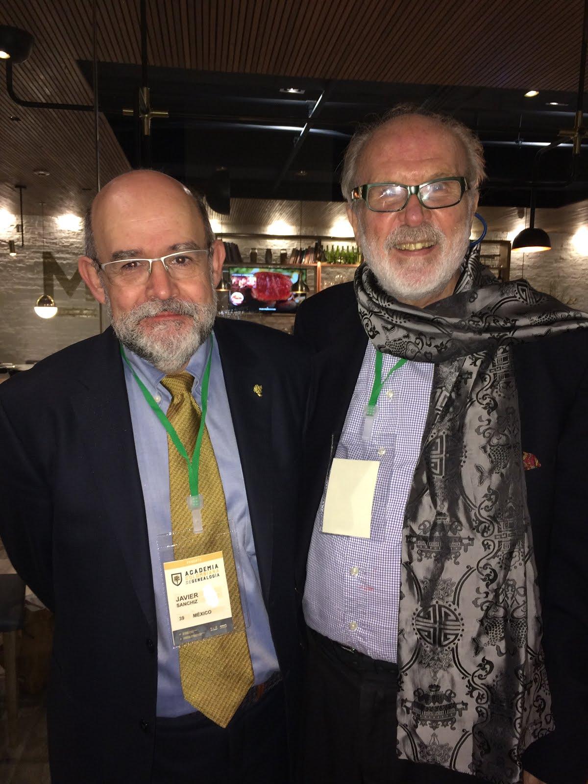 Con Javier Sanchíz Ruiz