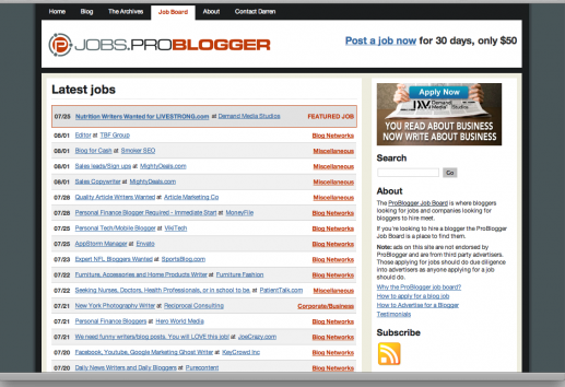 Top 10 Job Boards For Bloggers To Make Money Writing Online