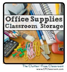 Office supply classroom storage and organization photos tips ideas