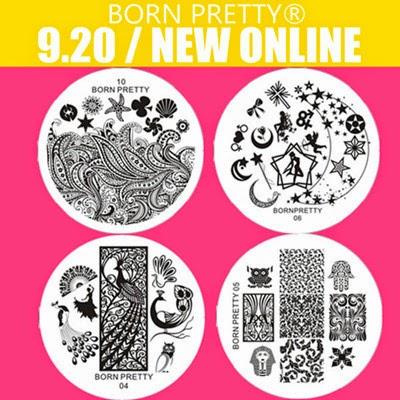 Born Pretty Store Stamping Plates