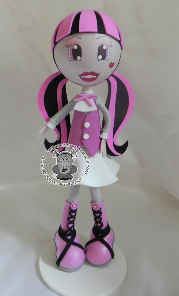 Monster High em EVA 3D