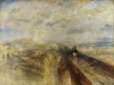 Pluie, vapeur et vitesse - Le chemin de fer de William Turner, 1840