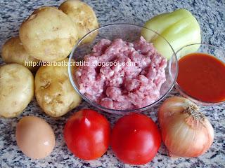 Musaca de cartofi ingrediente reteta