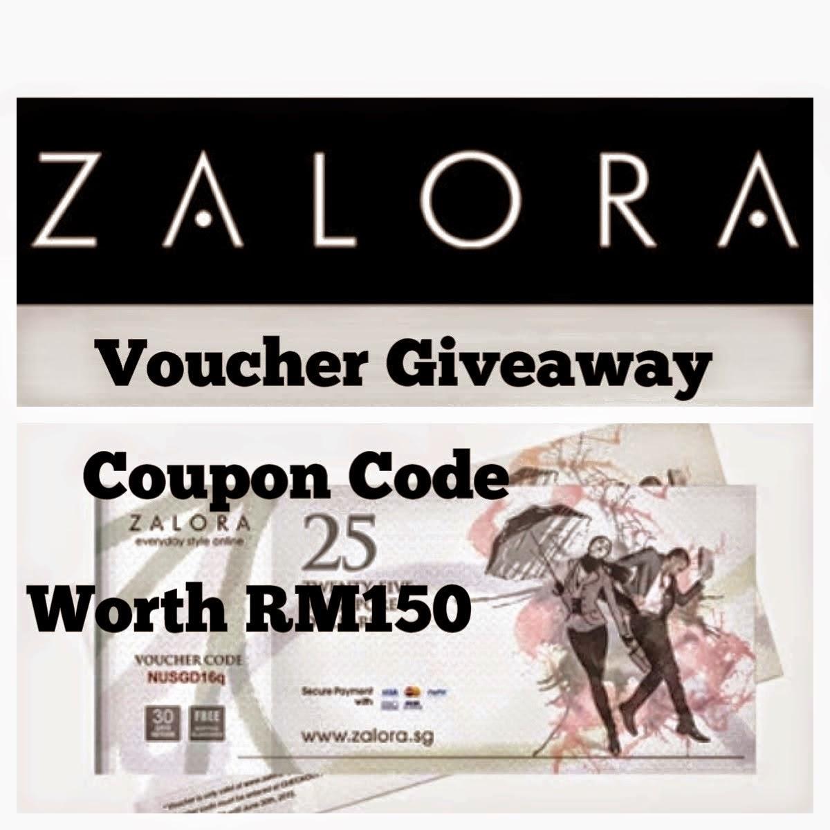 'Giveaway Zalora Voucher RM150 by SueAKGoGeous