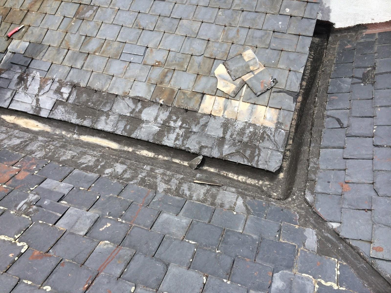 reparacion de tejados de pizarra canalon 5