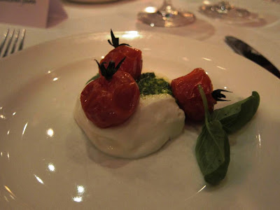 Mozza Caprese at Osteria Mozza