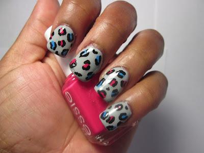 Leopard-Print-Nail-Art