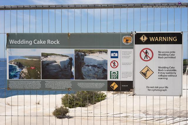 adventscape, attraction, Australia, Bundeena, coastal walk, iori, landscape, limestone, nature, New South Wales, NSW, Philip Avellana, places to visit, Royal National Park, tourism, Wedding Cake Rock, warning sign,