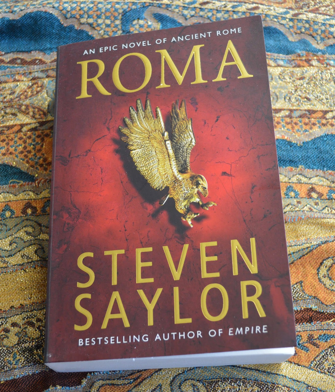 historical fiction, Roma, Steven Saylor, Roma, review, book review, Romans, Potitii family, myths, gods, 1000 years history,