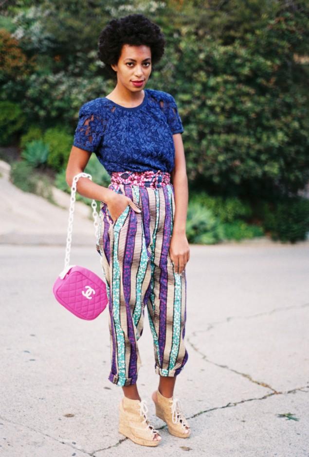 Yoskyrosky Solange Knowles Ankara Styles