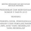 Permendikbud No. 5 Tahun 2015 Tentang Kriteria Kelulusan Peserta Didik Ujian Nasional