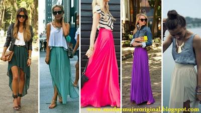 vestidos y faldas largas seran boom en este verano 2014