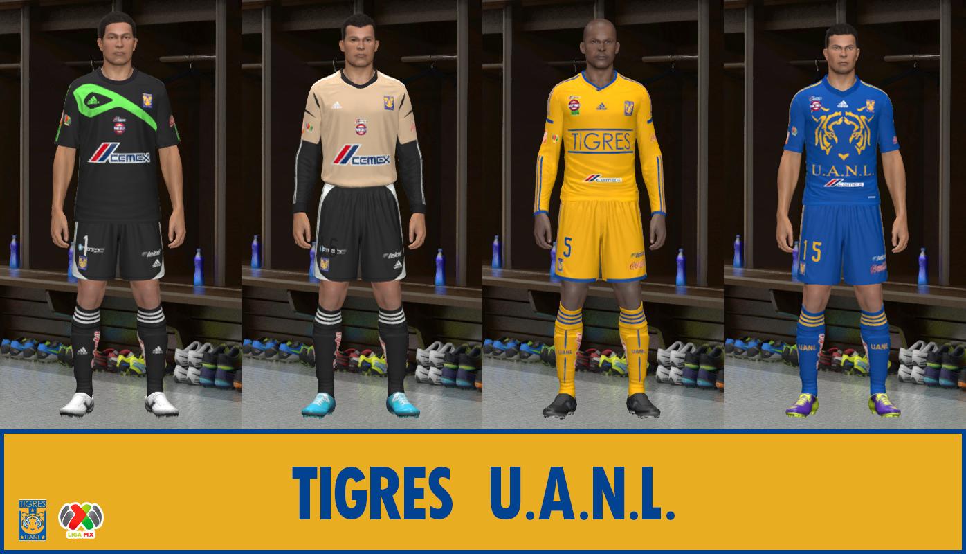 ABIEL KITS : Tigres UANL GBD Clausura 2014
