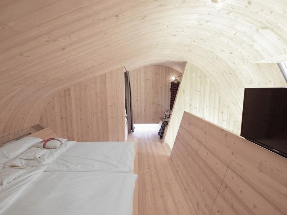 Gambar Desain Rumah Panggung Kayu Model Minimalis Sederhana 23