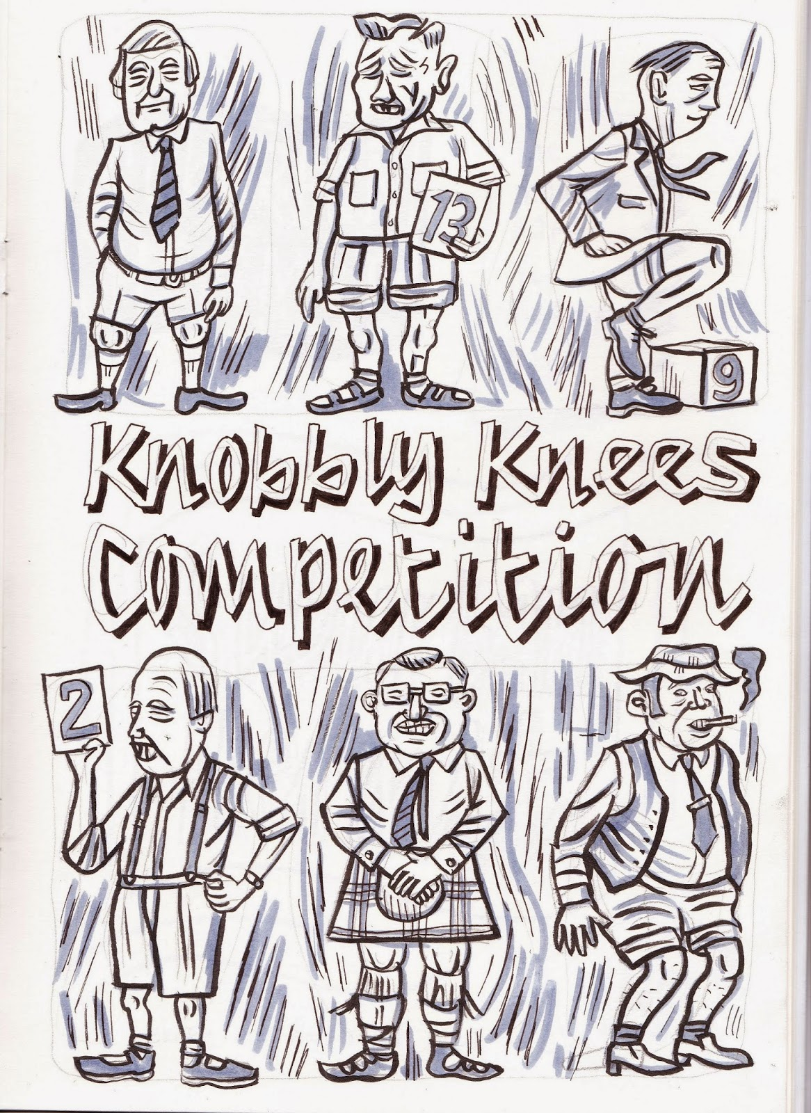 Knobbly Knees Competition Knobbly Knees Competition