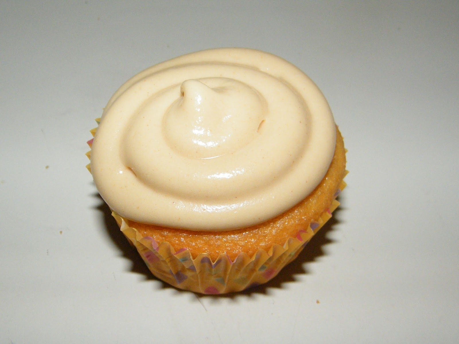 yellow cake with jelly filling and peanut butter frosting