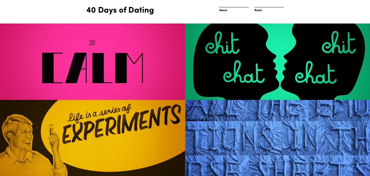 Forty days of dating blog sites