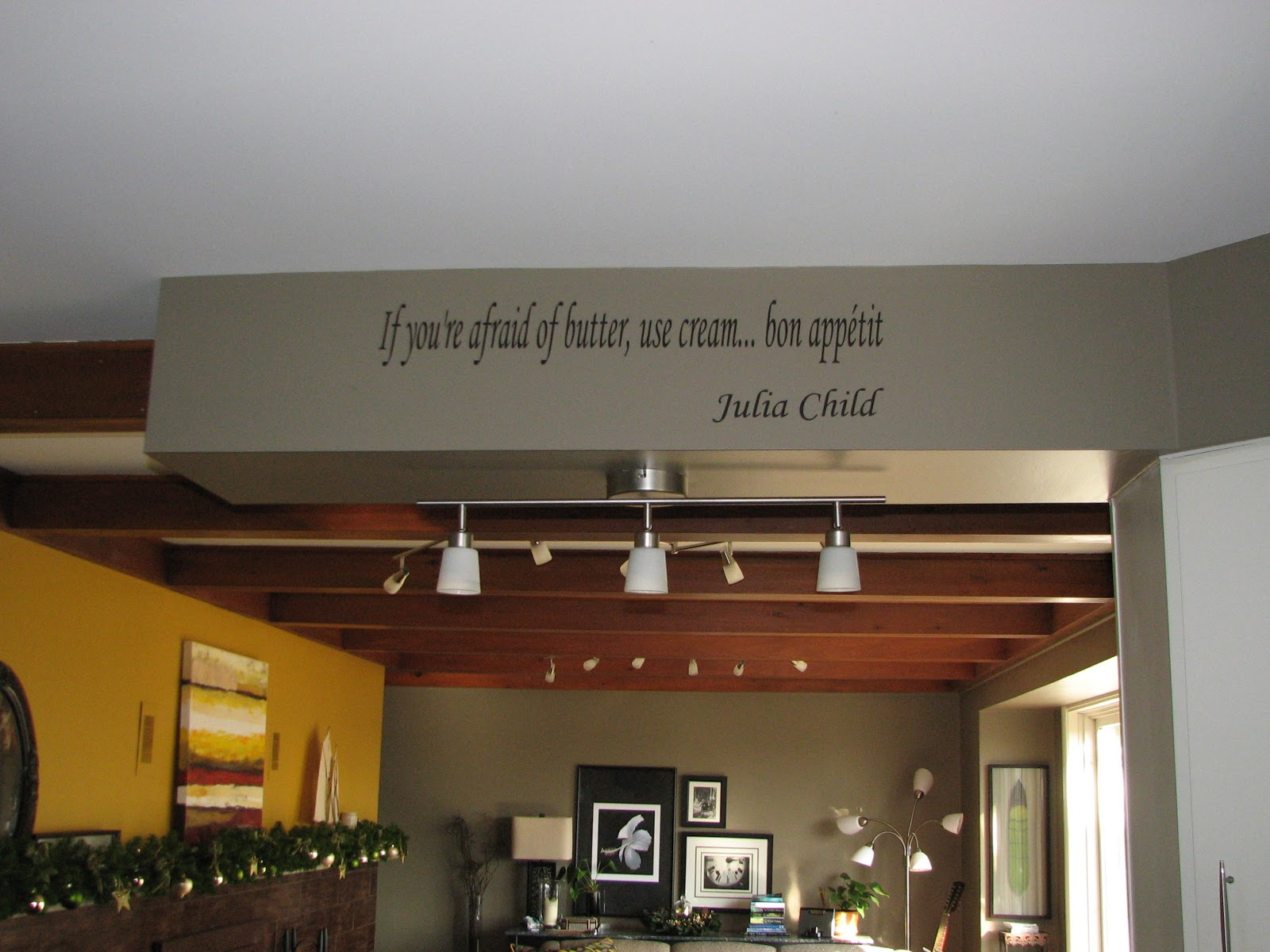 Julia Child Vinyl Wall Decal