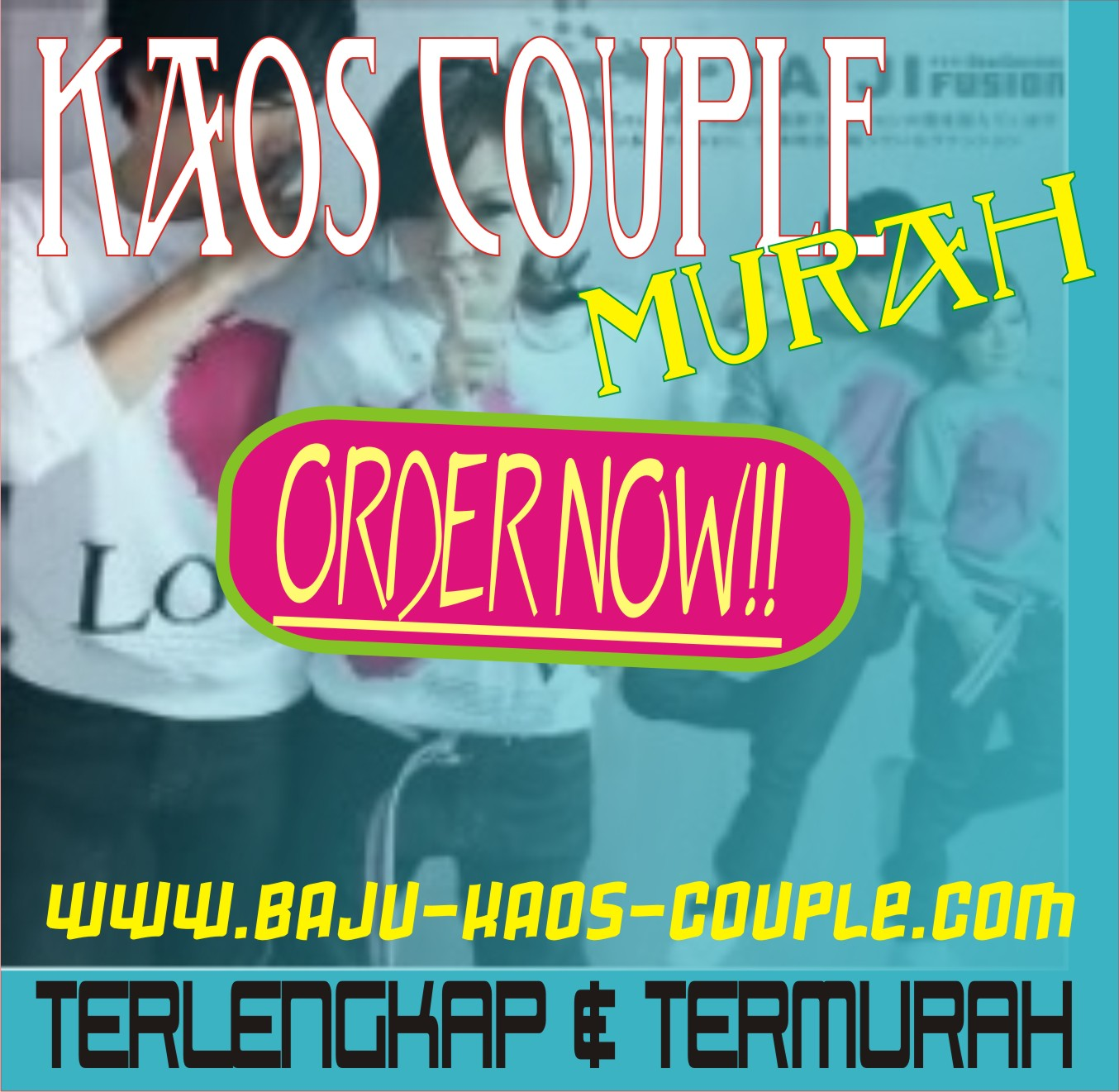 Kaos Couple Murah