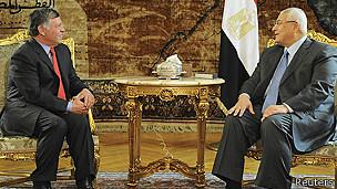 Raja Abdullah menjadi pemimpin Arab pertama yang