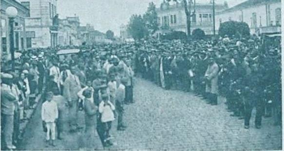 VISITA DO DR BIAS FORTES EM BARBACENA 1931