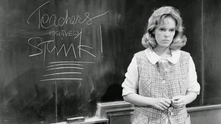 A Vintage Nerd, Old Hollywood Blog, Classic Film Blog, Up the Down Staircase, Sandy Dennis Movies, Vintage Blog