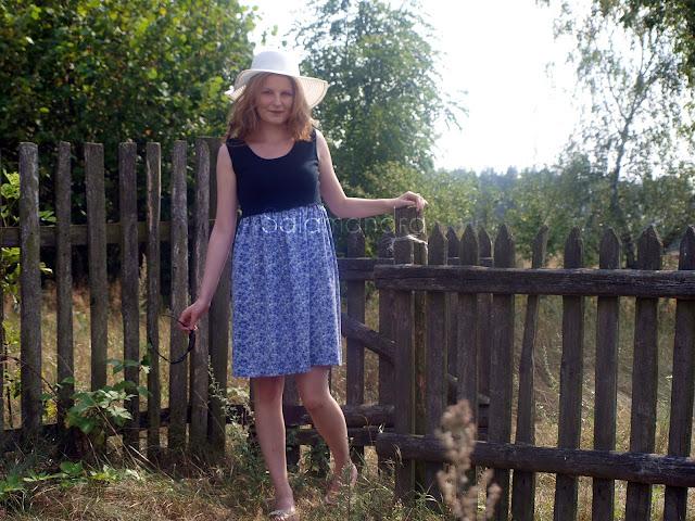 sukienka na wieś