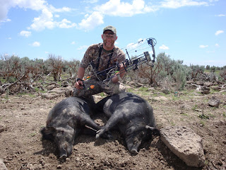 Shoshone Idaho European Boar Kill