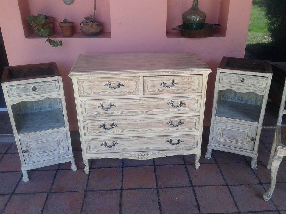 Deco project reciclados de muebles y objetos funes - Muebles de colores pintados ...