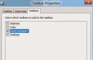 Kích hoạt bàn phím ảo mới của Windows 8