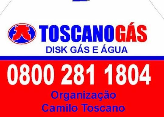 TOSCANO GÁS E ÁGUA
