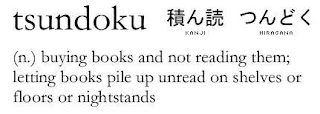 Tsundoku - buying books and not reading them