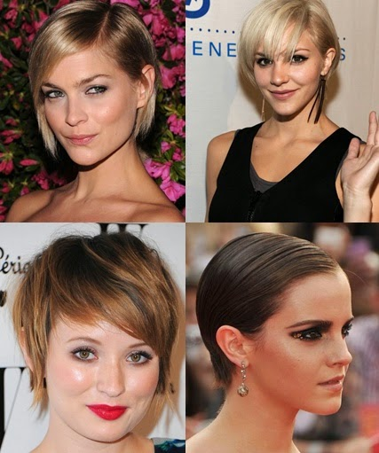 Short Hairstyles for thin hair 2014