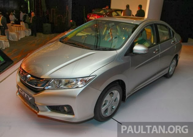 The fourth-gen 2014 Honda City was officially unveiled in India this