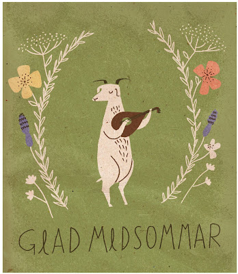 """Glad Midsommar"" by Nicholas John Frith."