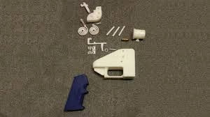 Parts of a printable gun