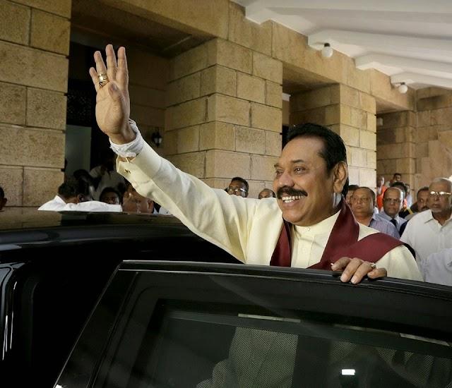 Collapse of the Rajapaksa Regime