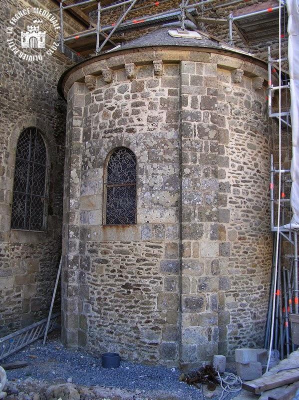 SAINT-GILDAS-DE-RHUYS (56) - Abbatiale Saint-Gildas