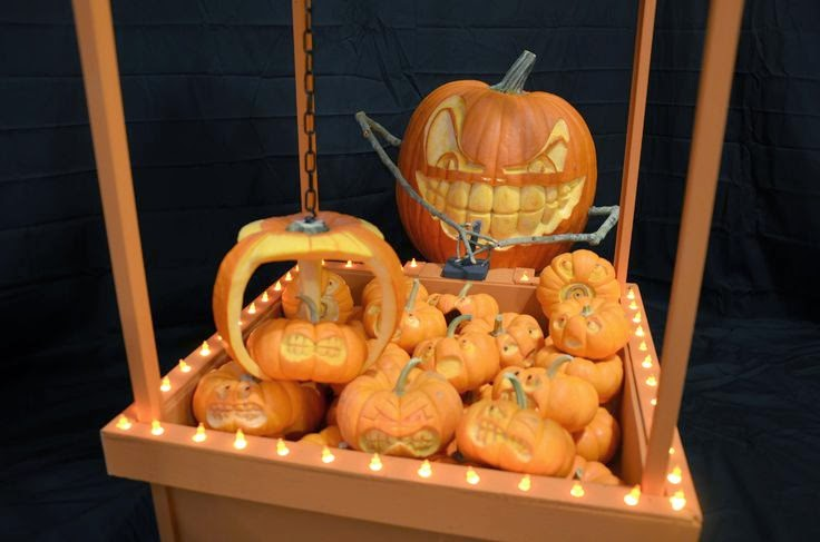 Pumpkin Claw Game