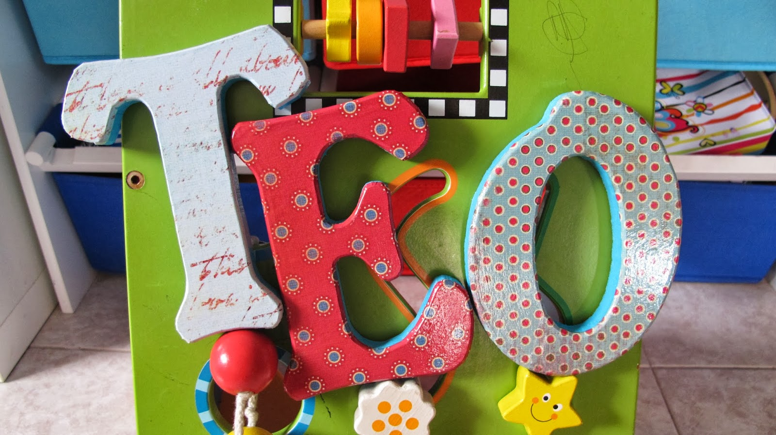 1000 images about letras de madera decoradas a mano - Letras de madera decoradas ...