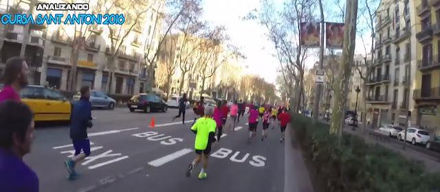 Volveremos  a pasar por segunda vez por GranVia de les Corts Catalanes