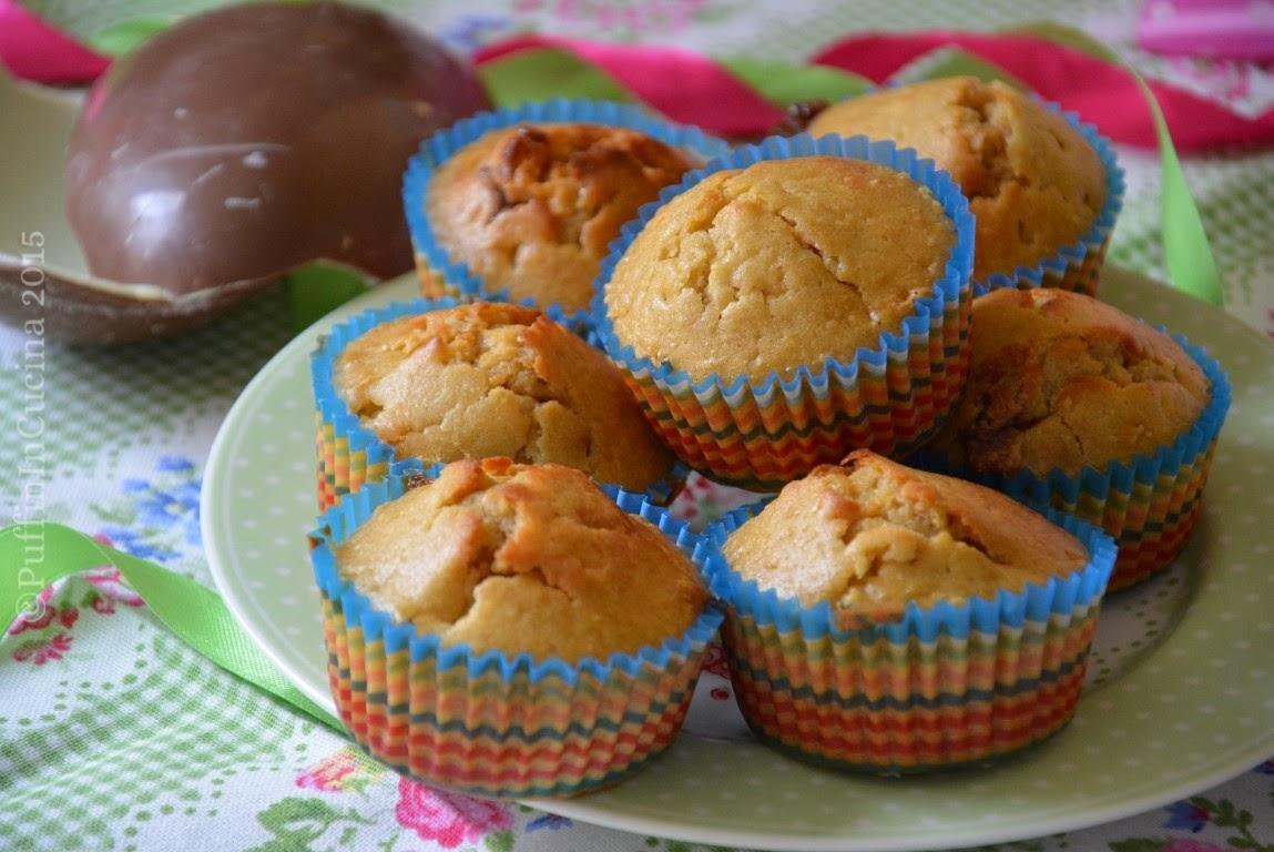 Muffin con cioccolato kinder un ottima idea semplice e - Bagno di cioccolato ...
