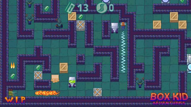 Los coloristas puzles de Box Kid Adventures lo intentan en Steam