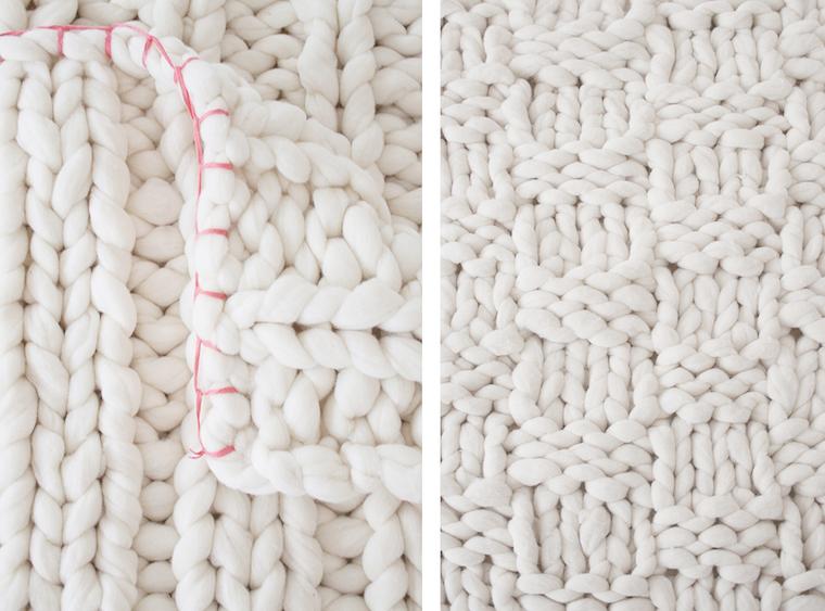 Knitting noodles mantas de lana merino tr nsito inicial for Mantas de lana hechas a mano